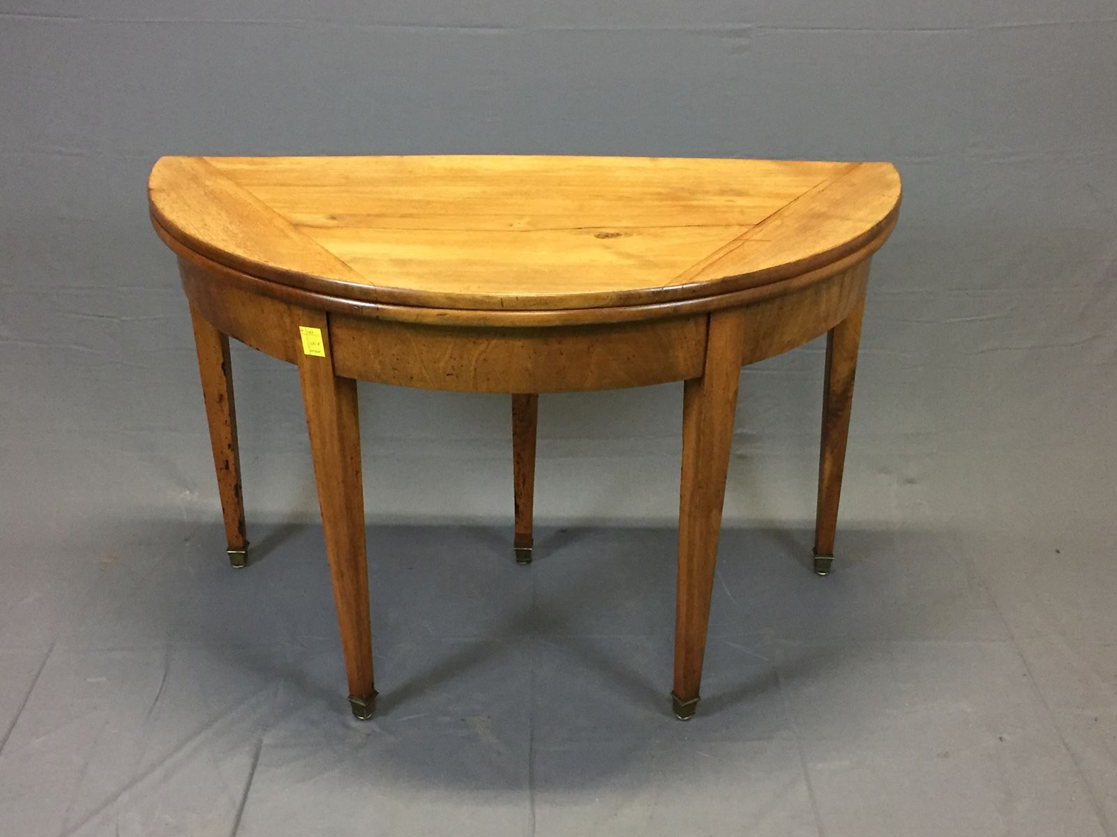 Antique half moon table for sale at pamono for 1 2 moon table