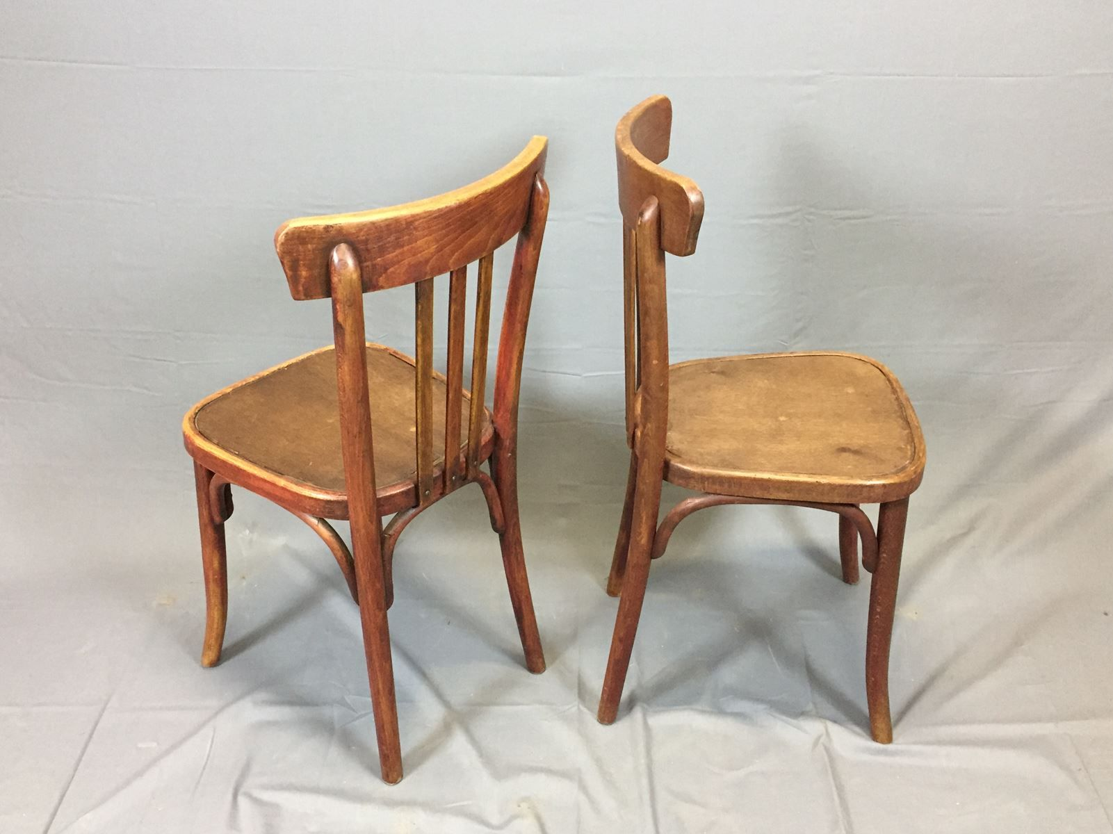 Vintage Bistro Chairs Set of 2 for sale at Pamono