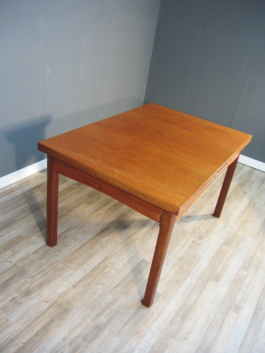 ausziehbarer kirschholz furnier esstisch 1950er bei pamono kaufen. Black Bedroom Furniture Sets. Home Design Ideas