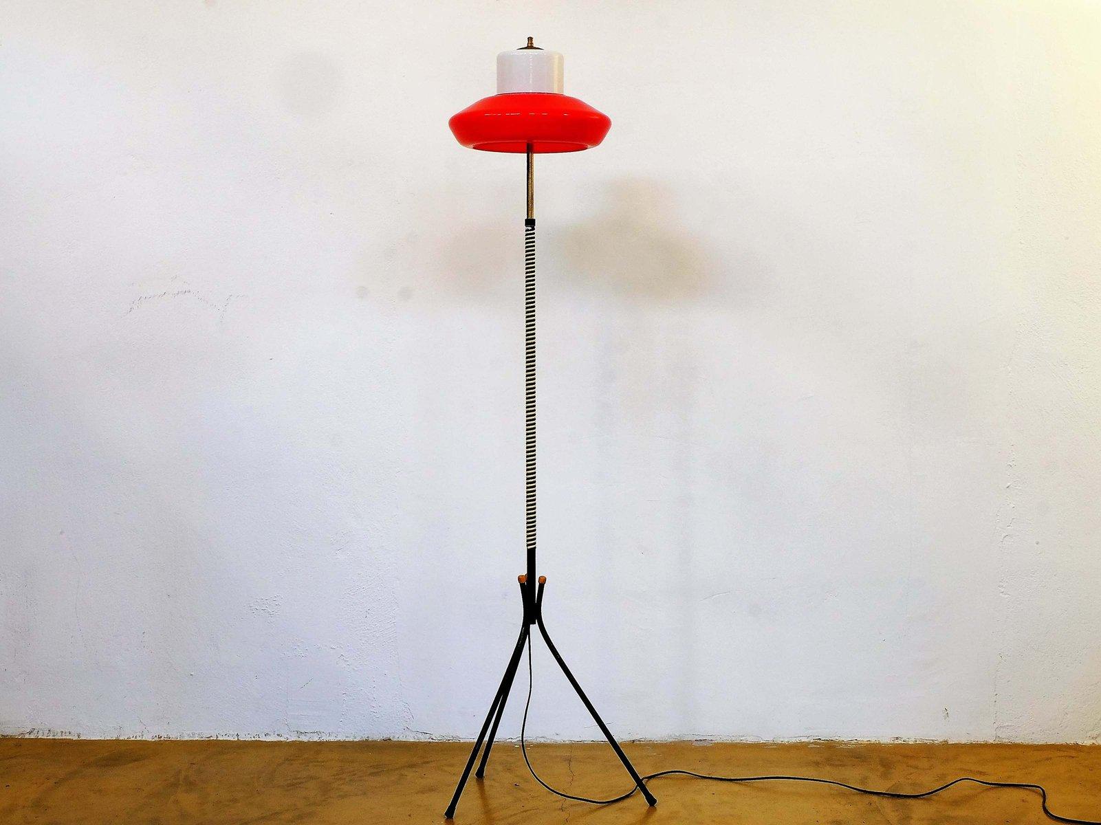 Künstlerisch Dreibein Stehlampe Das Beste Von Excellent Free Midcentury In Rot U Wei