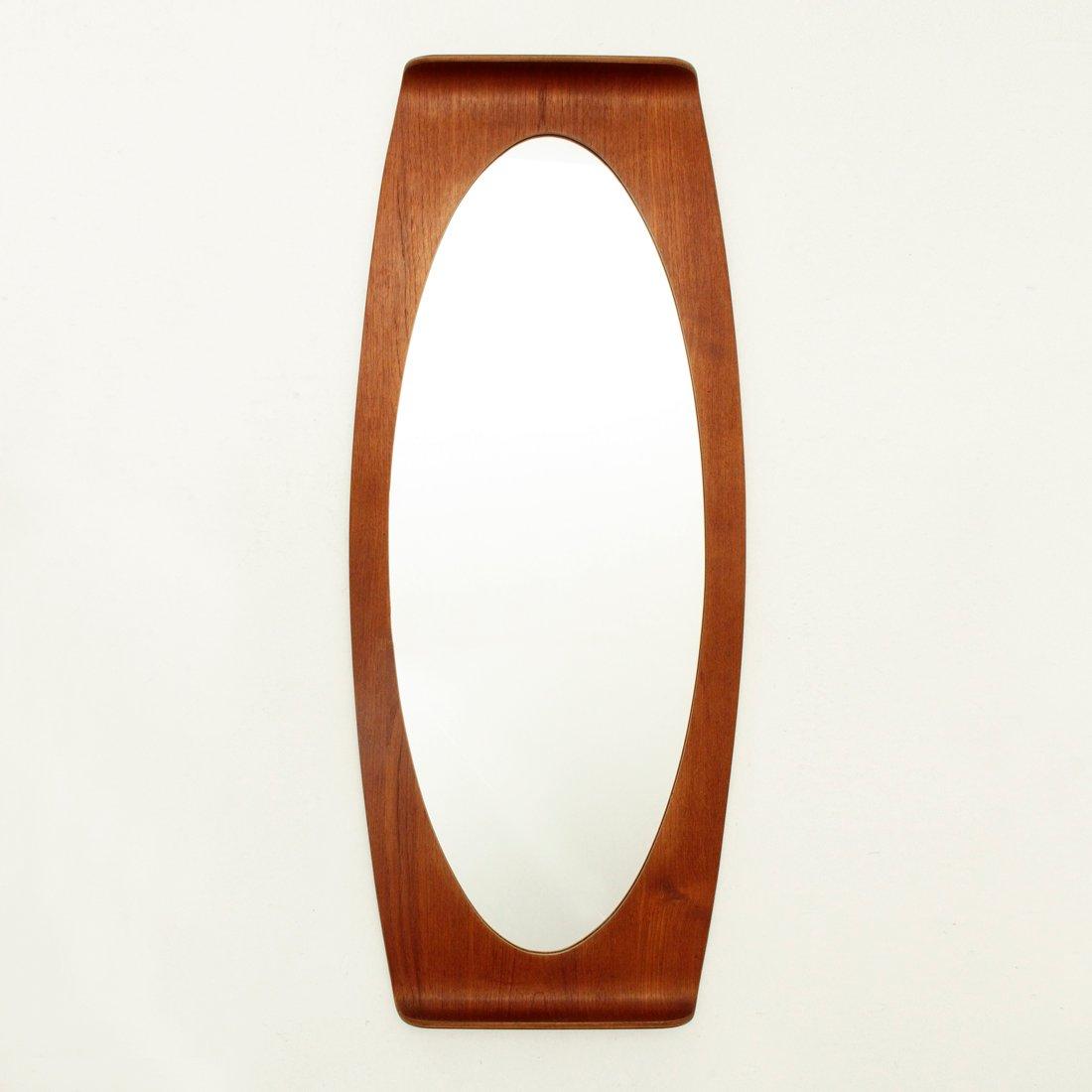vintage spiegel mit geschwungenem rahmen von carlo. Black Bedroom Furniture Sets. Home Design Ideas