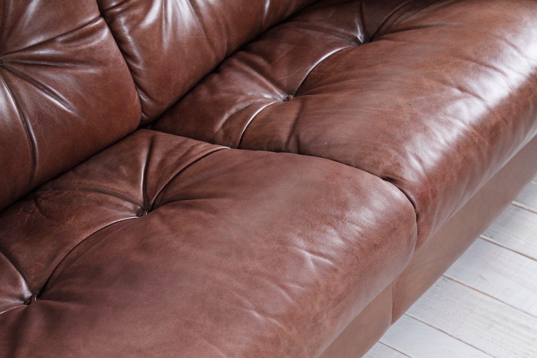 vintage 2 sitzer ledersofa 1960er bei pamono kaufen. Black Bedroom Furniture Sets. Home Design Ideas