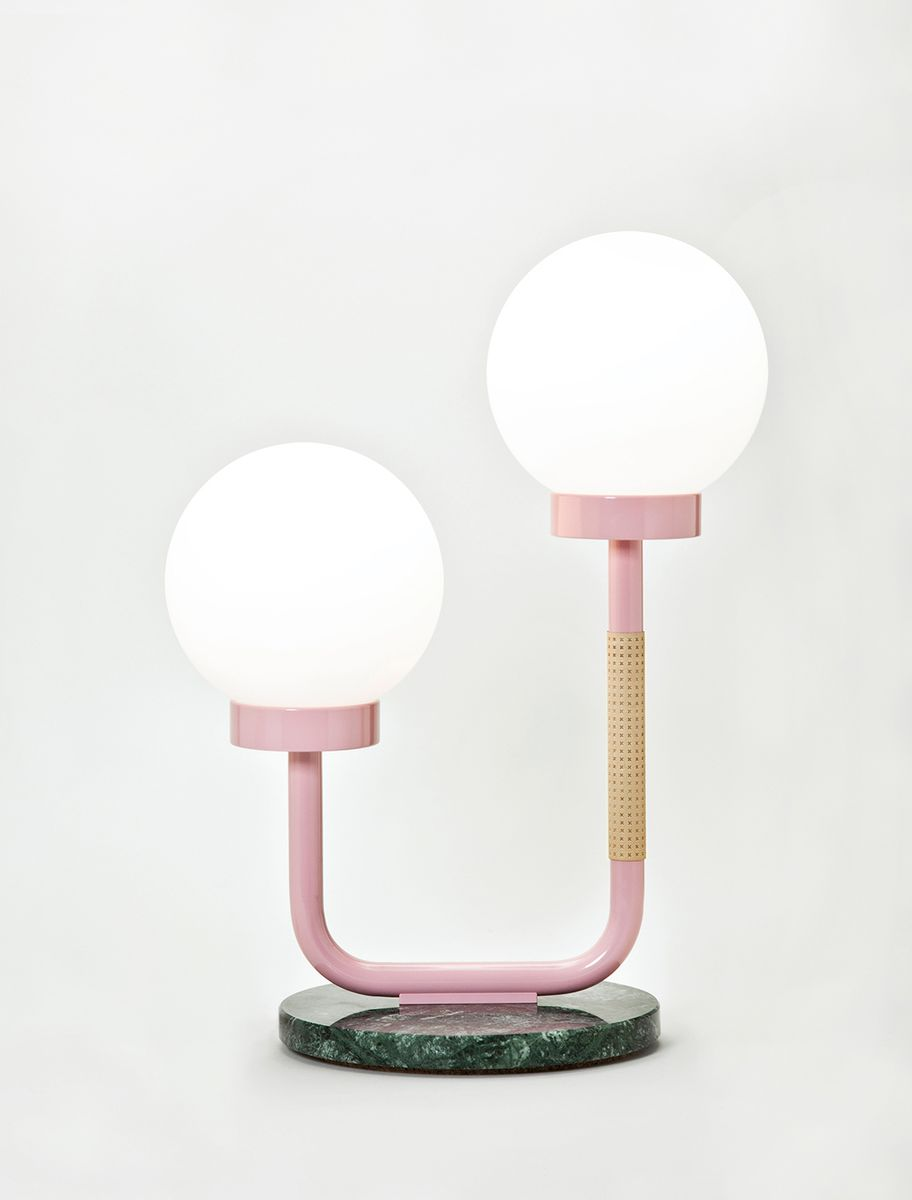 Little Darling Table Lamp In Pink By Maria Gustavsson For