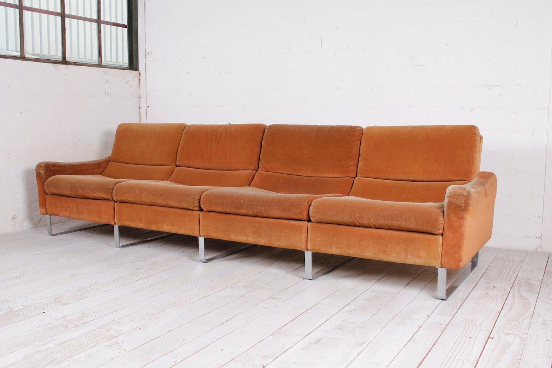 Modulares 4 sitzer sofa 1960er bei pamono kaufen for Sofa 4 sitzer landhausstil