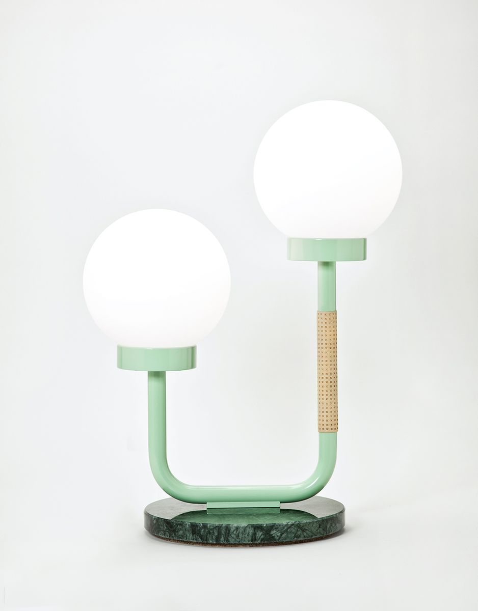 Little Darling Table Lamp In Green By Maria Gustavsson For