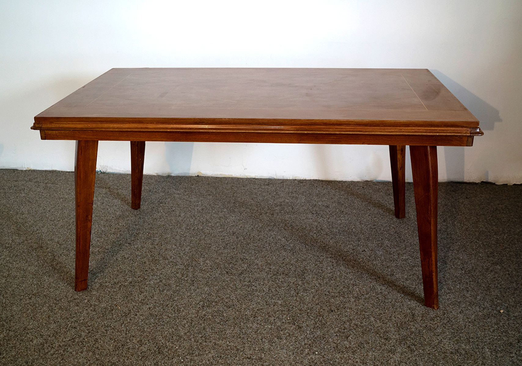 Art Deco Marquetry Dining Table for sale at Pamono
