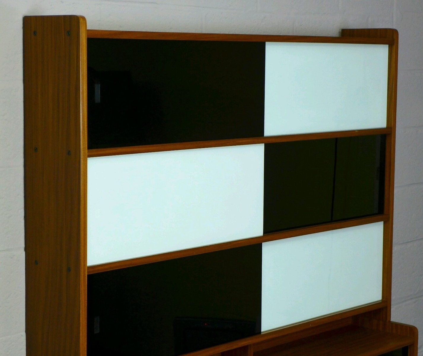Wall unit with sliding doors 1960s for sale at pamono for Sliding doors for sale