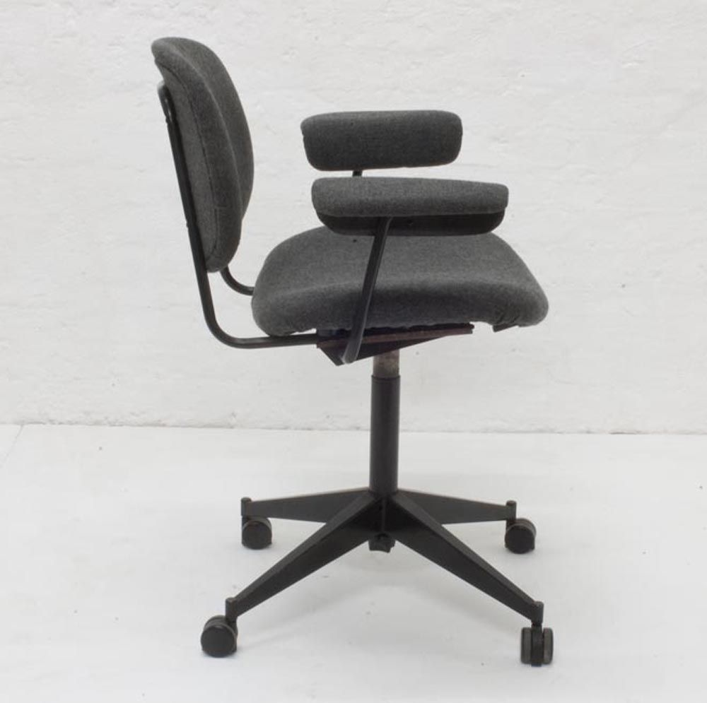 Vintage Office Chair By Studio BBPR For Olivetti For Sale