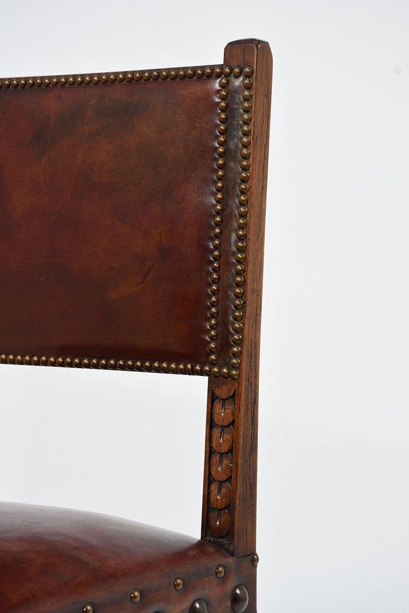 antike esszimmerst hle 8er set bei pamono kaufen. Black Bedroom Furniture Sets. Home Design Ideas