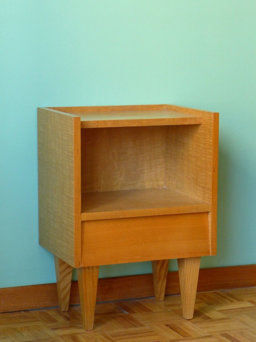 Small Bedside Table 1950s For Sale At Pamono