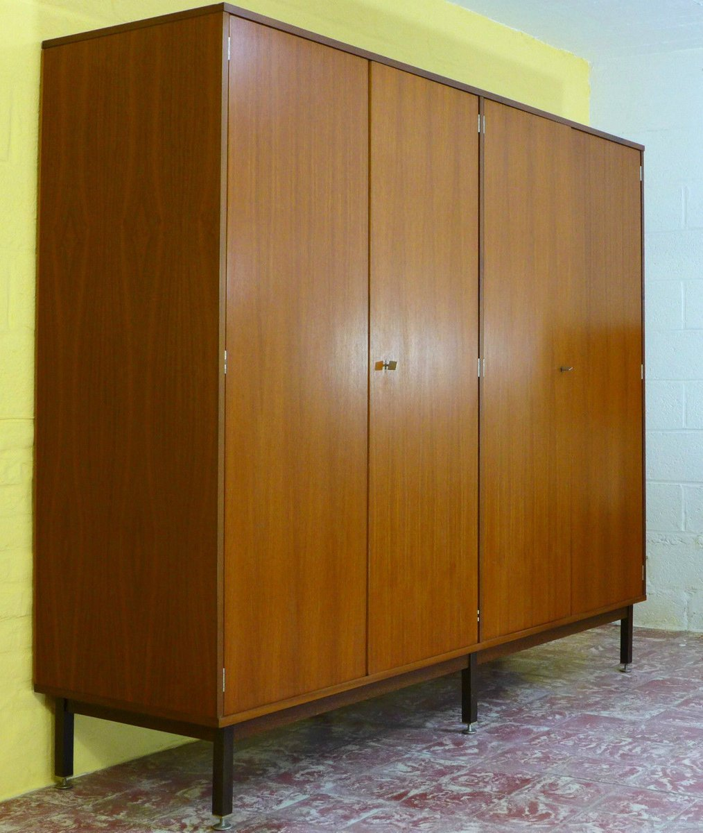 Mid Century Modern Wardrobe 1960s For Sale At Pamono