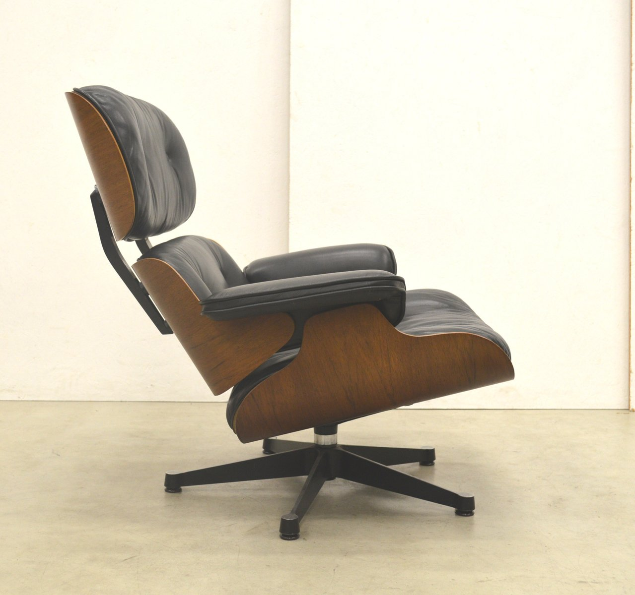 rosewood lounge chair by ray charles eames for vitra 1970s for sale at pamono. Black Bedroom Furniture Sets. Home Design Ideas