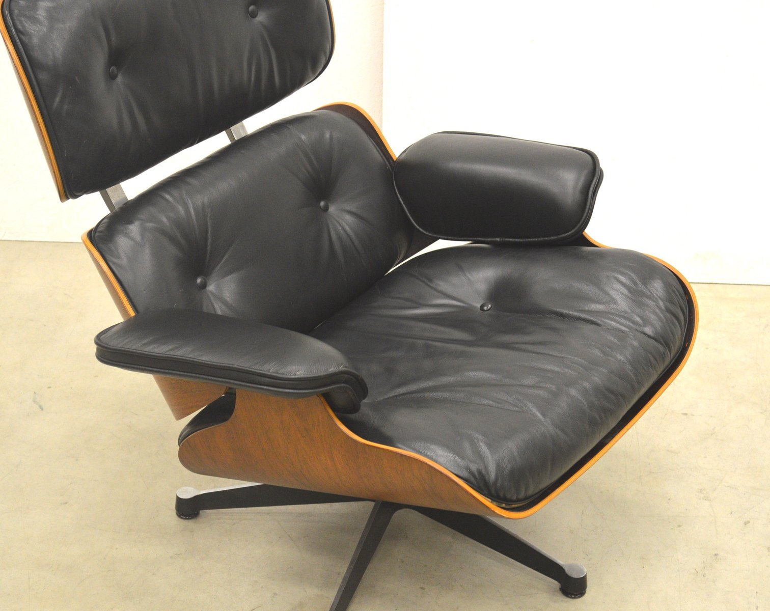palisander sessel von ray charles eames f r vitra 1970er bei pamono kaufen. Black Bedroom Furniture Sets. Home Design Ideas