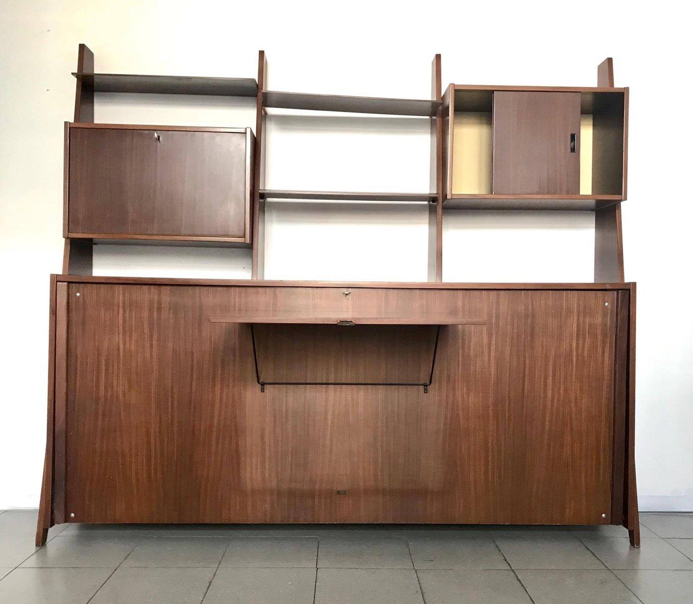 skandinavisches regalsystem 1960er bei pamono kaufen. Black Bedroom Furniture Sets. Home Design Ideas
