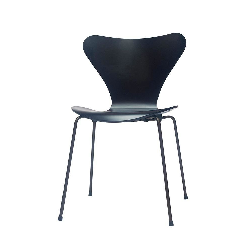 3107 chair by arne jacobsen for fritz hansen for sale at pamono. Black Bedroom Furniture Sets. Home Design Ideas