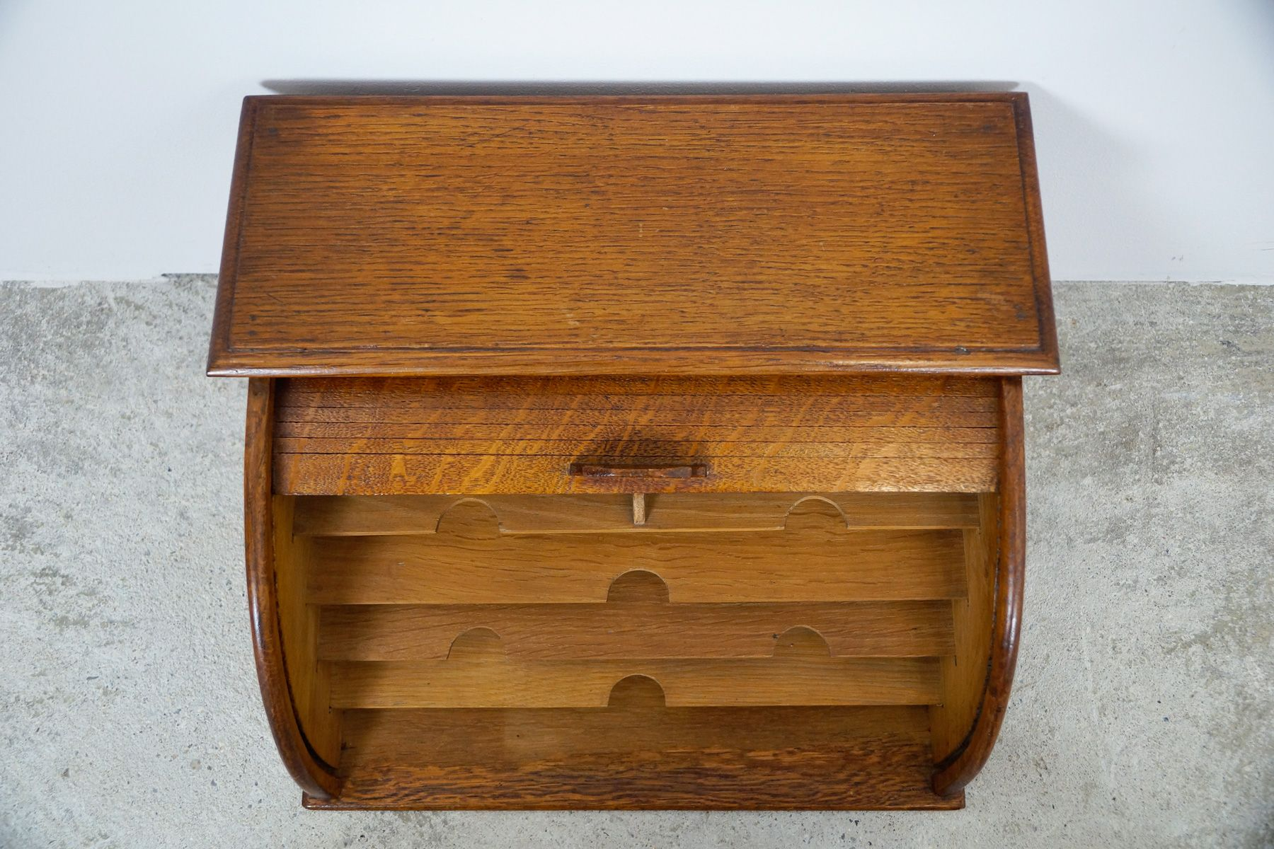 Small English Desk Top Document Cabinet, 1910s for sale at Pamono