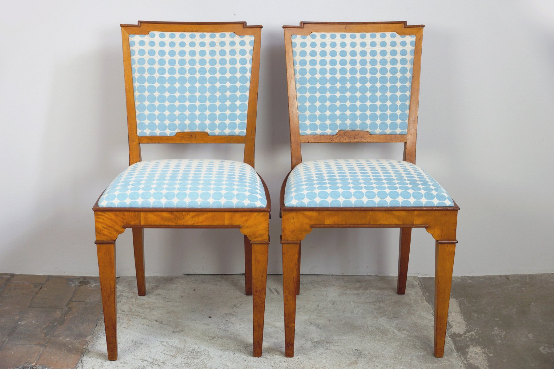 Vintage dining room chairs 1920s set of 2 for sale at pamono for Vintage dining room