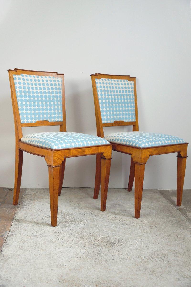 vintage esszimmerst hle 1920er 2er set bei pamono kaufen. Black Bedroom Furniture Sets. Home Design Ideas