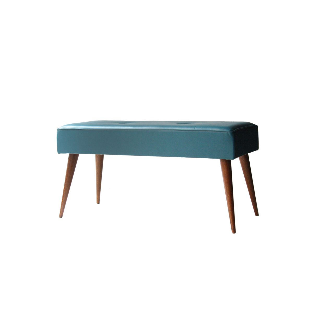 Vinyl Benches 1960s Set Of 2 For Sale At Pamono