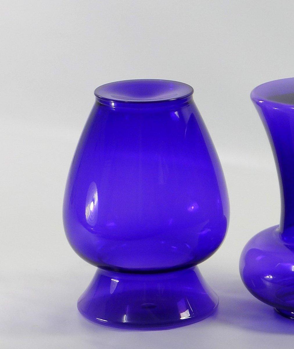 Tabouret Le Boh 232 Me 3 En Violet Par Philippe Starck Pour