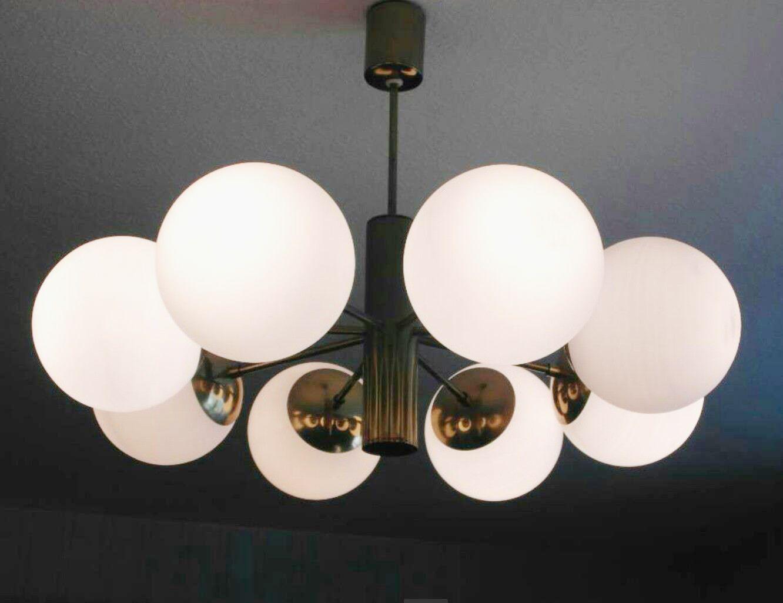 sputnik deckenleuchte von kaiser leuchten 1960er bei. Black Bedroom Furniture Sets. Home Design Ideas