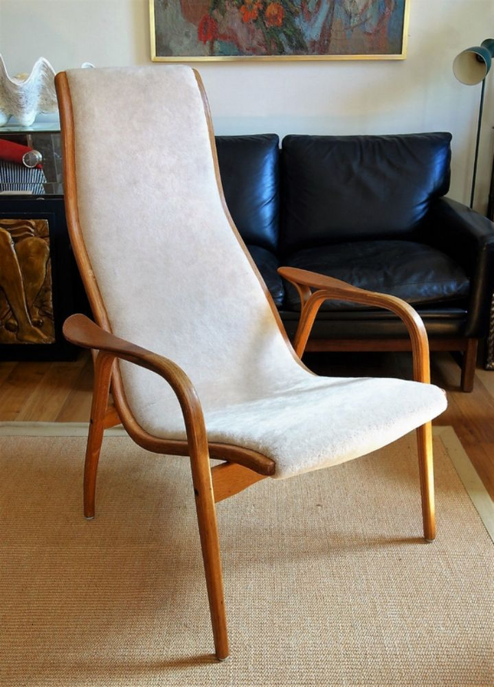Vintage Lamino Easy Chair by Ingve Ekström for Swedese for sale at Pamono
