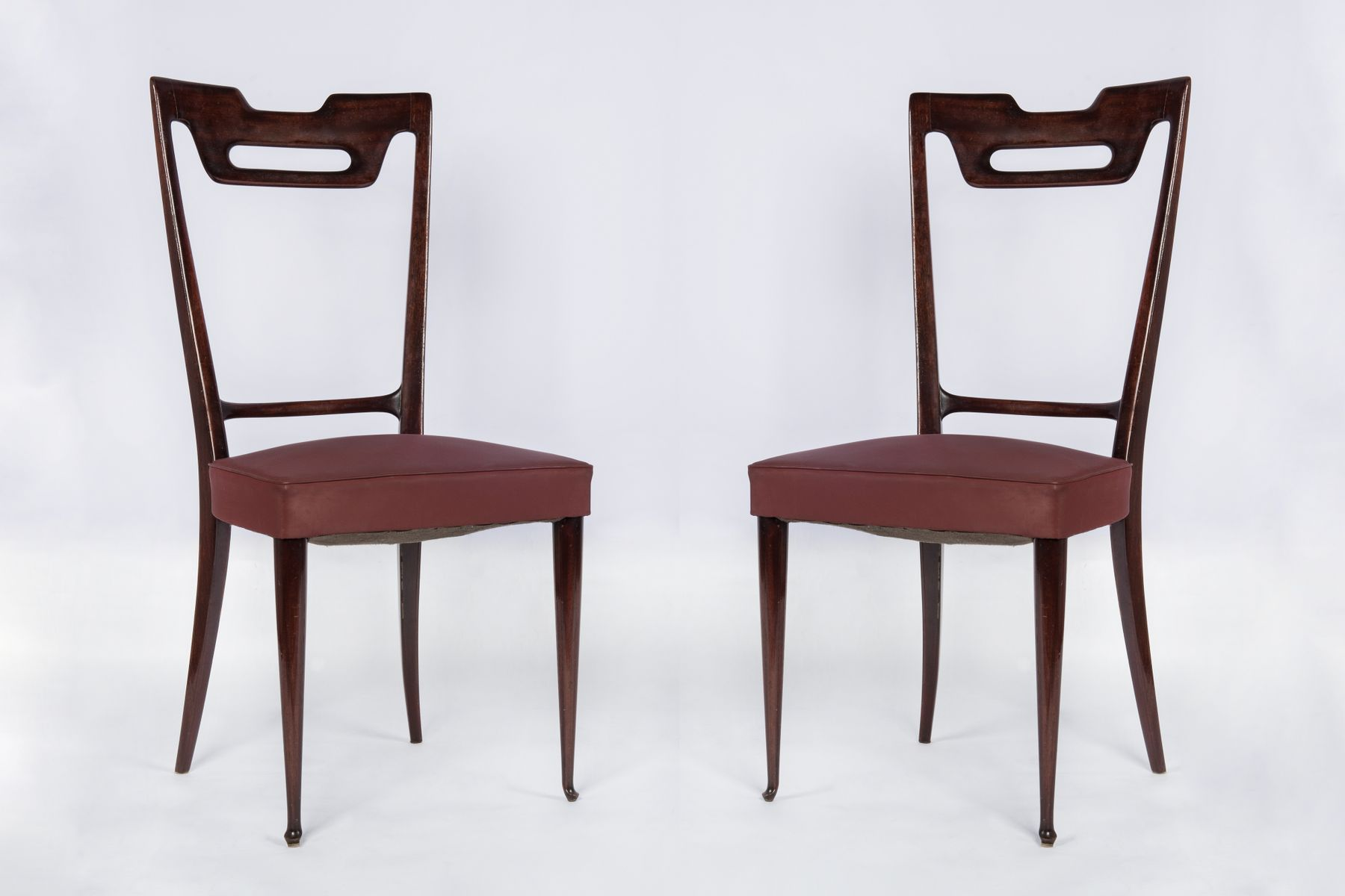 Dining chairs 1950s set of 8 for sale at pamono for Cheap dining chairs set of 8