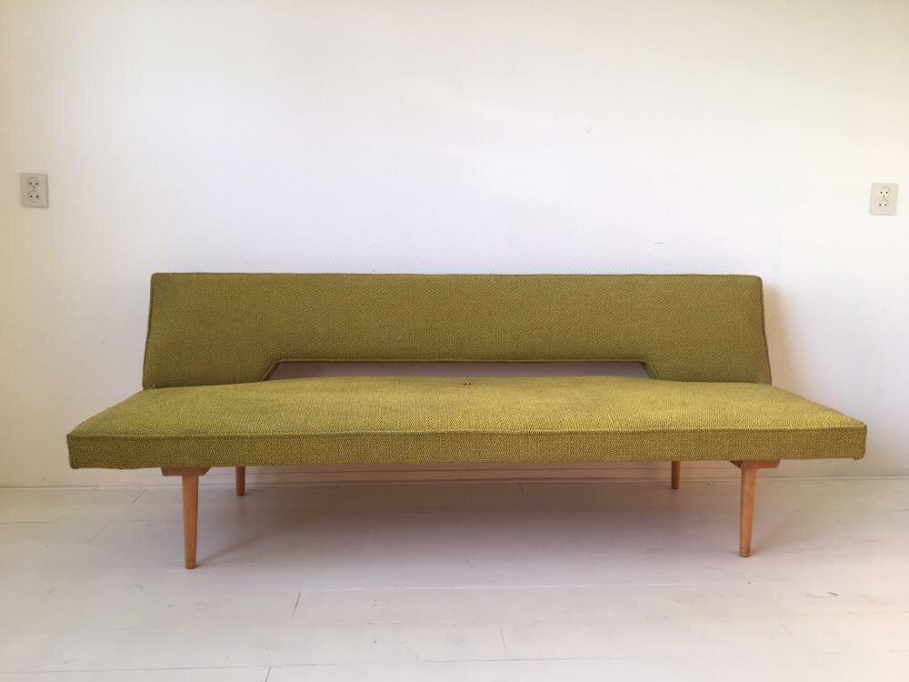 Sofa by Miroslav Navratil, 1960s for sale at Pamono