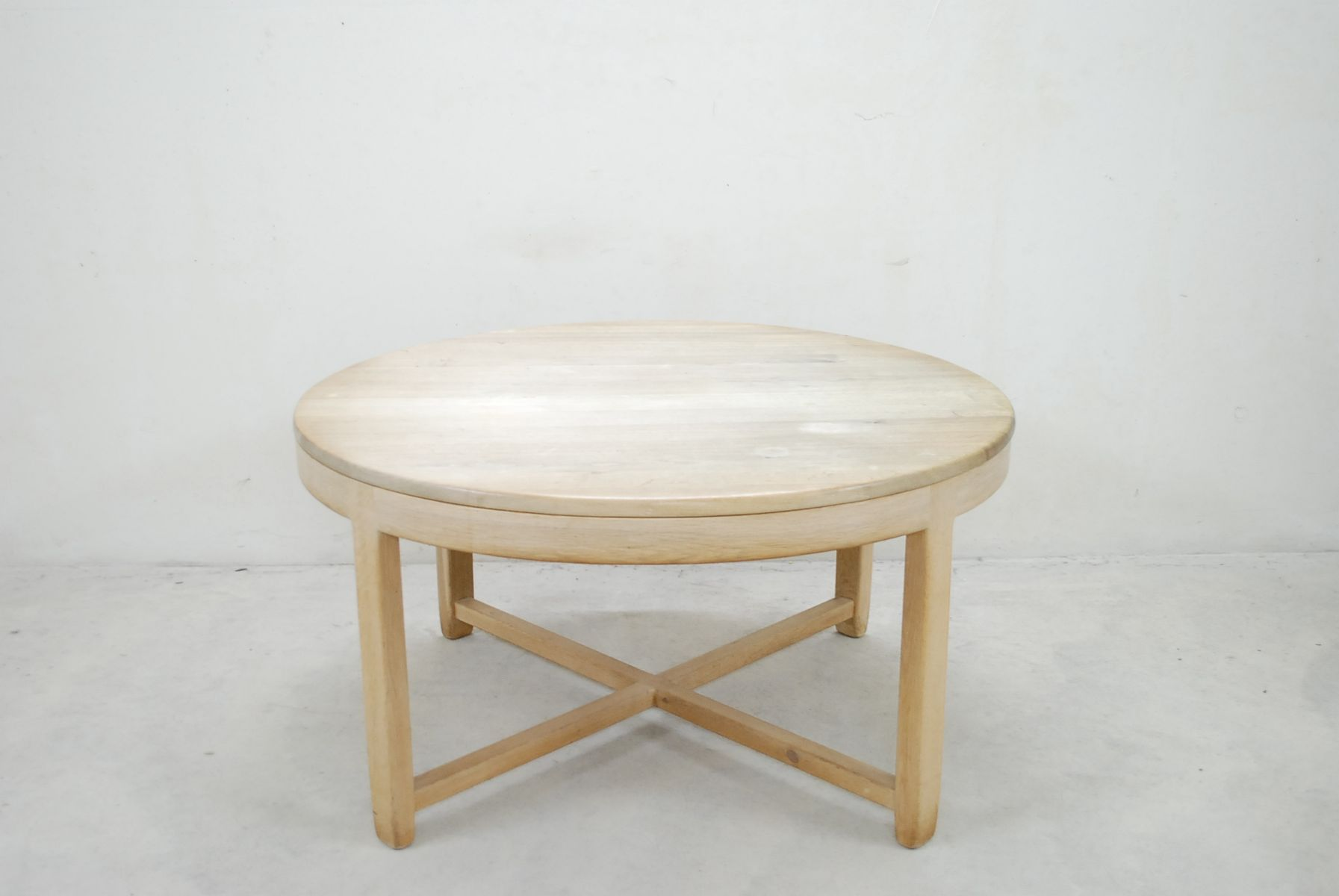 Mid century oak dining table and 4 chairs for sale at pamono for Dining table and 4 chairs