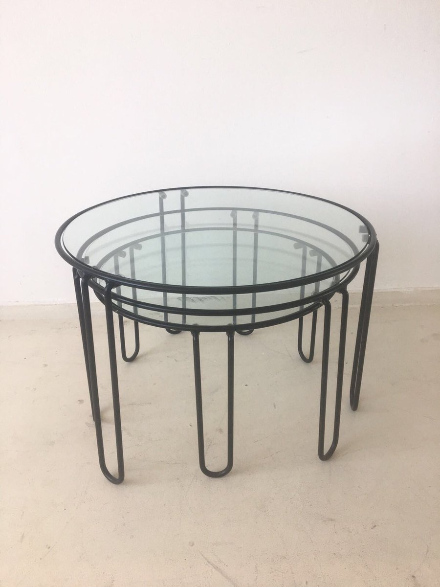 Mid century coffee tables 1960s set of 3 for sale at pamono price per set geotapseo Choice Image