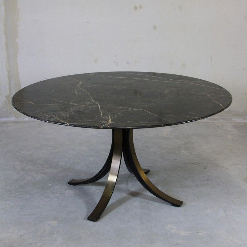 Round Marble Dining Table by Osvaldo Borsani for Tecno  : round marble dining table by osvaldo borsani for tecno 1964 1 from www.pamono.fr size 800 x 800 jpeg 92kB