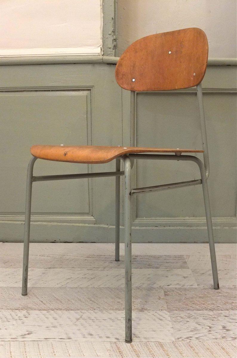 industrieller vintage stuhl bei pamono kaufen. Black Bedroom Furniture Sets. Home Design Ideas