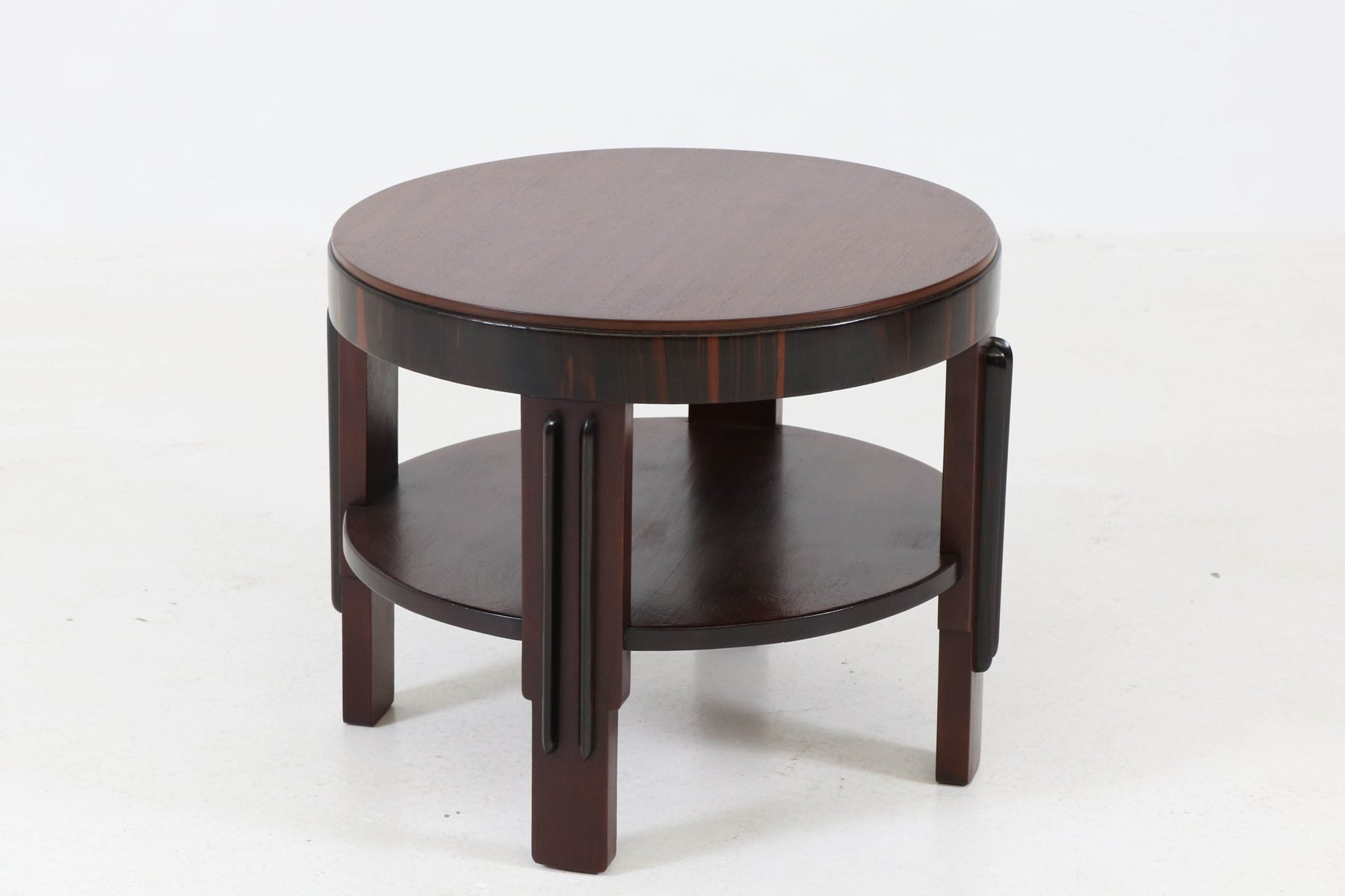 Mahogany Coffee Table by Fa Drilling Amsterdam 1920s for sale at