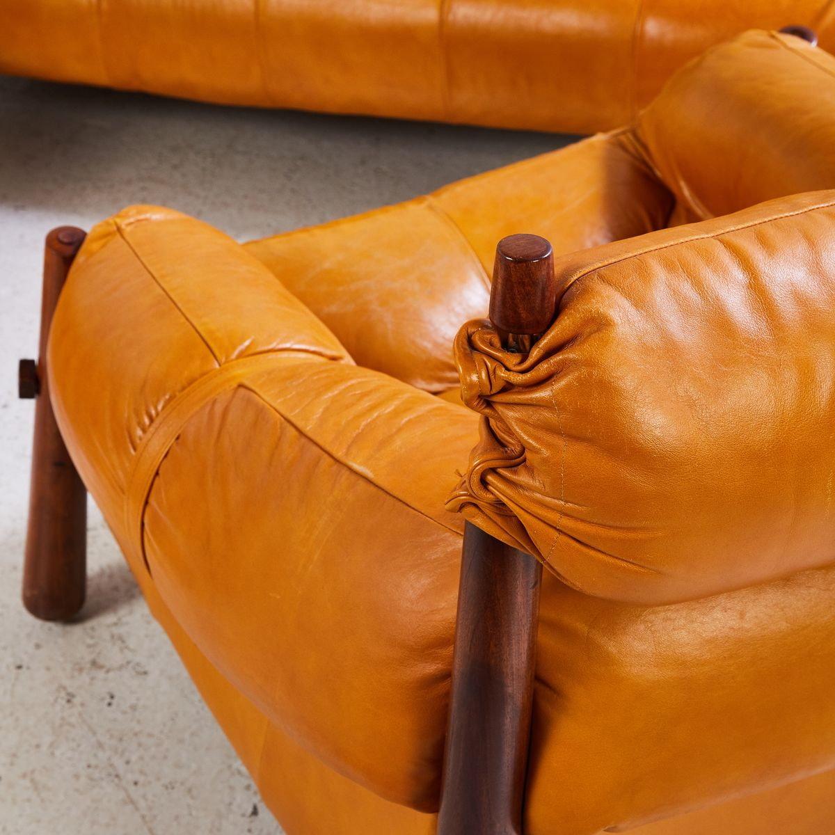 Vintage Leather Seating Group by Percival Lafer for sale  : vintage leather seating group by percival lafer 6 from www.pamono.com size 1200 x 1200 jpeg 123kB