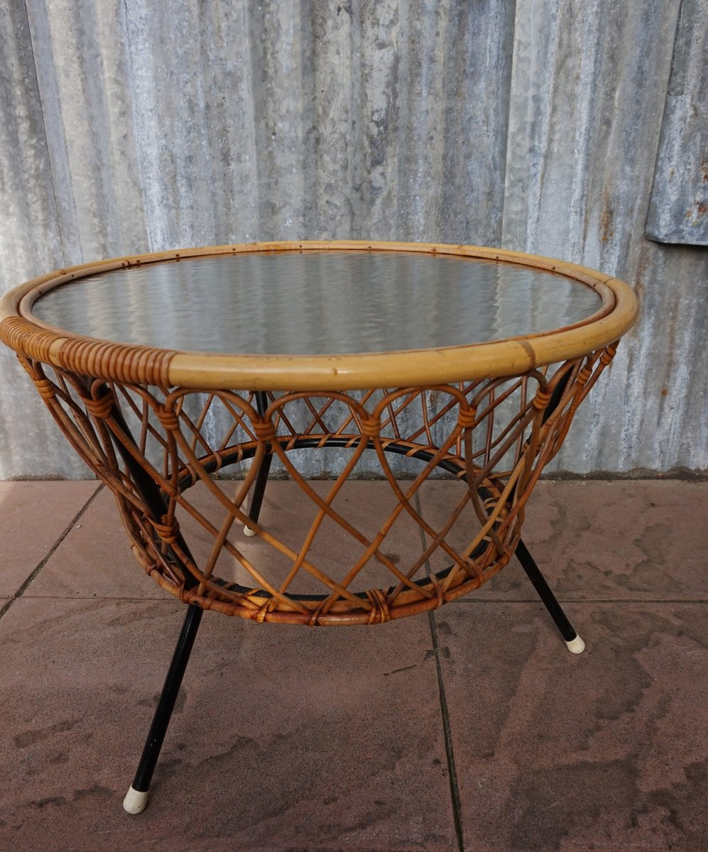 Vintage Wicker And Glass Coffee Table 10. $701.00. Price Per Piece