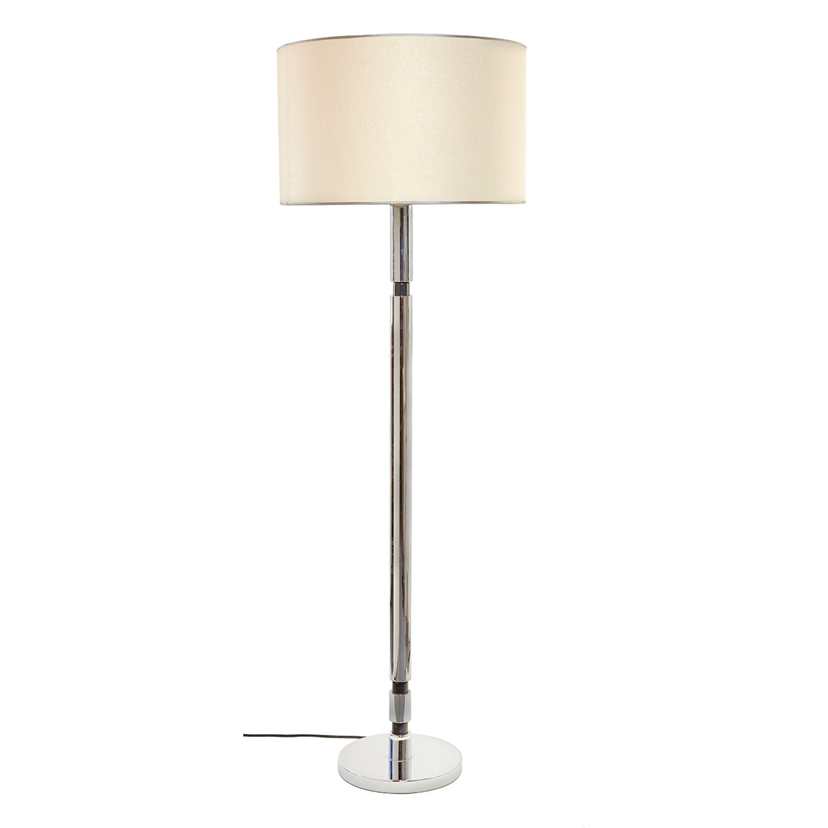 Vintage chrome floor lamp for sale at pamono for Tecton chrome floor lamp