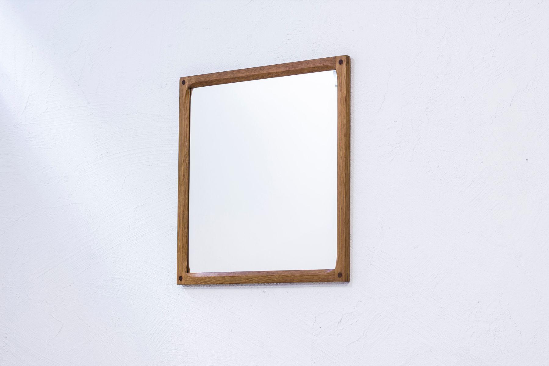 162 eichenholz spiegel von kai kristiansen f r aksel kjersgaard 1950er bei pamono kaufen. Black Bedroom Furniture Sets. Home Design Ideas