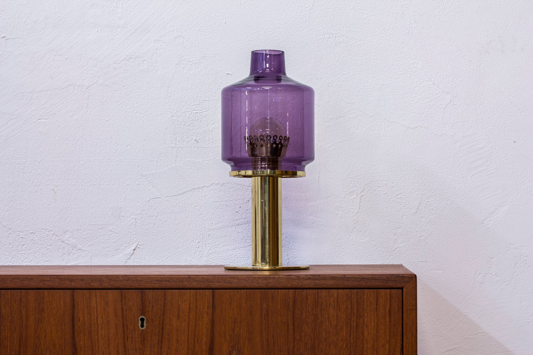 model b 102 table lamp by hans agne jakobsson for hans. Black Bedroom Furniture Sets. Home Design Ideas