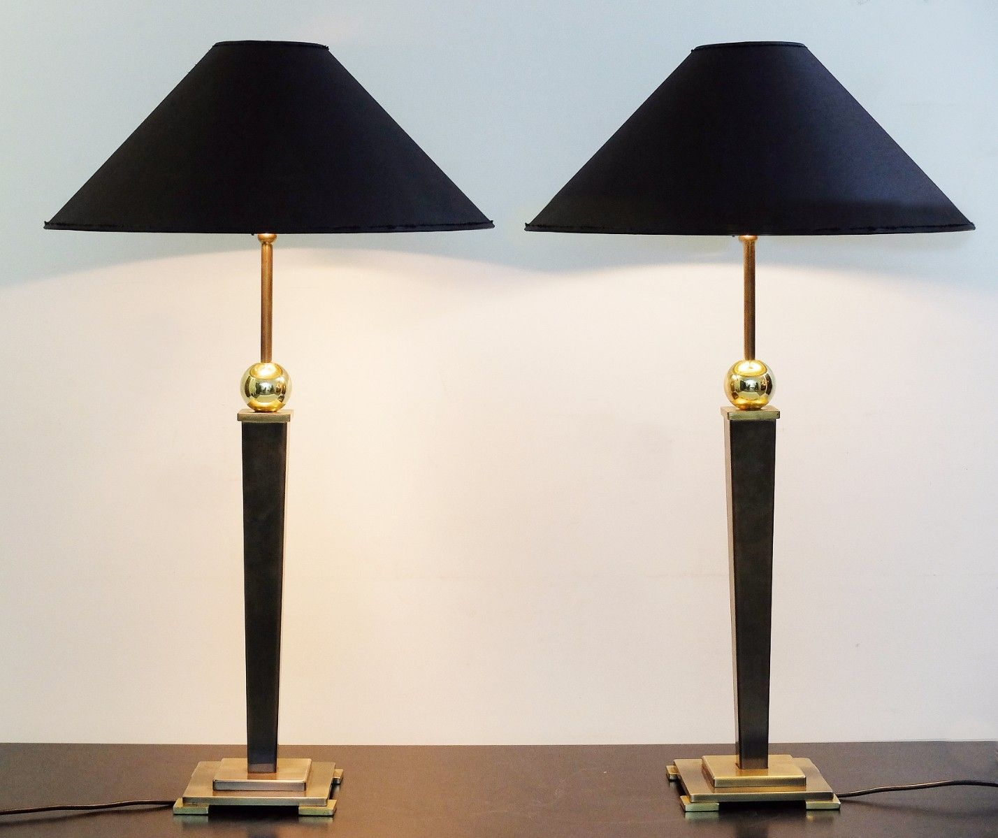 Vintage table lamps set of 2 for sale at pamono audiocablefo light catalogue