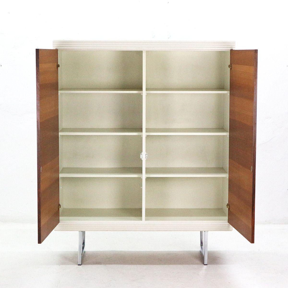 vintage palisander schrank 1970er bei pamono kaufen. Black Bedroom Furniture Sets. Home Design Ideas