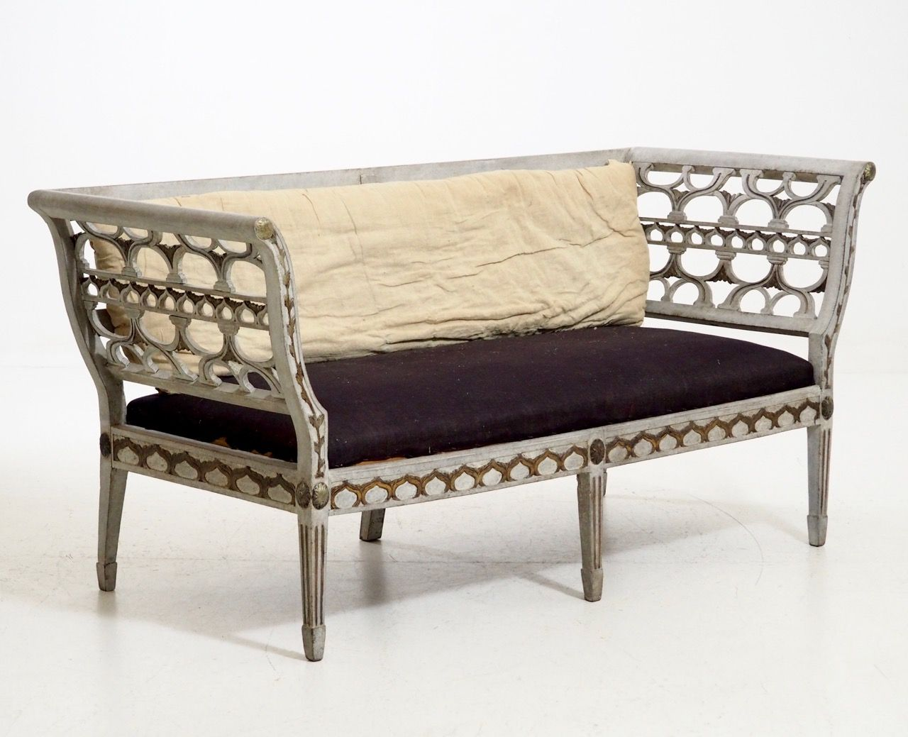 antikes gustavianisches sofa bei pamono kaufen