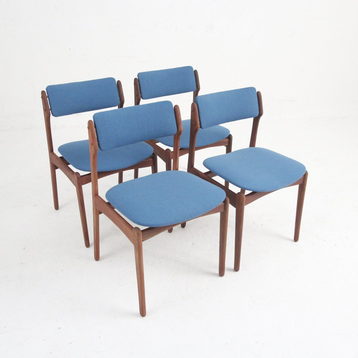 Danish Modern Dining Chair: Vintage Danish Modern Dining Chairs In Rosewood, Set Of 4
