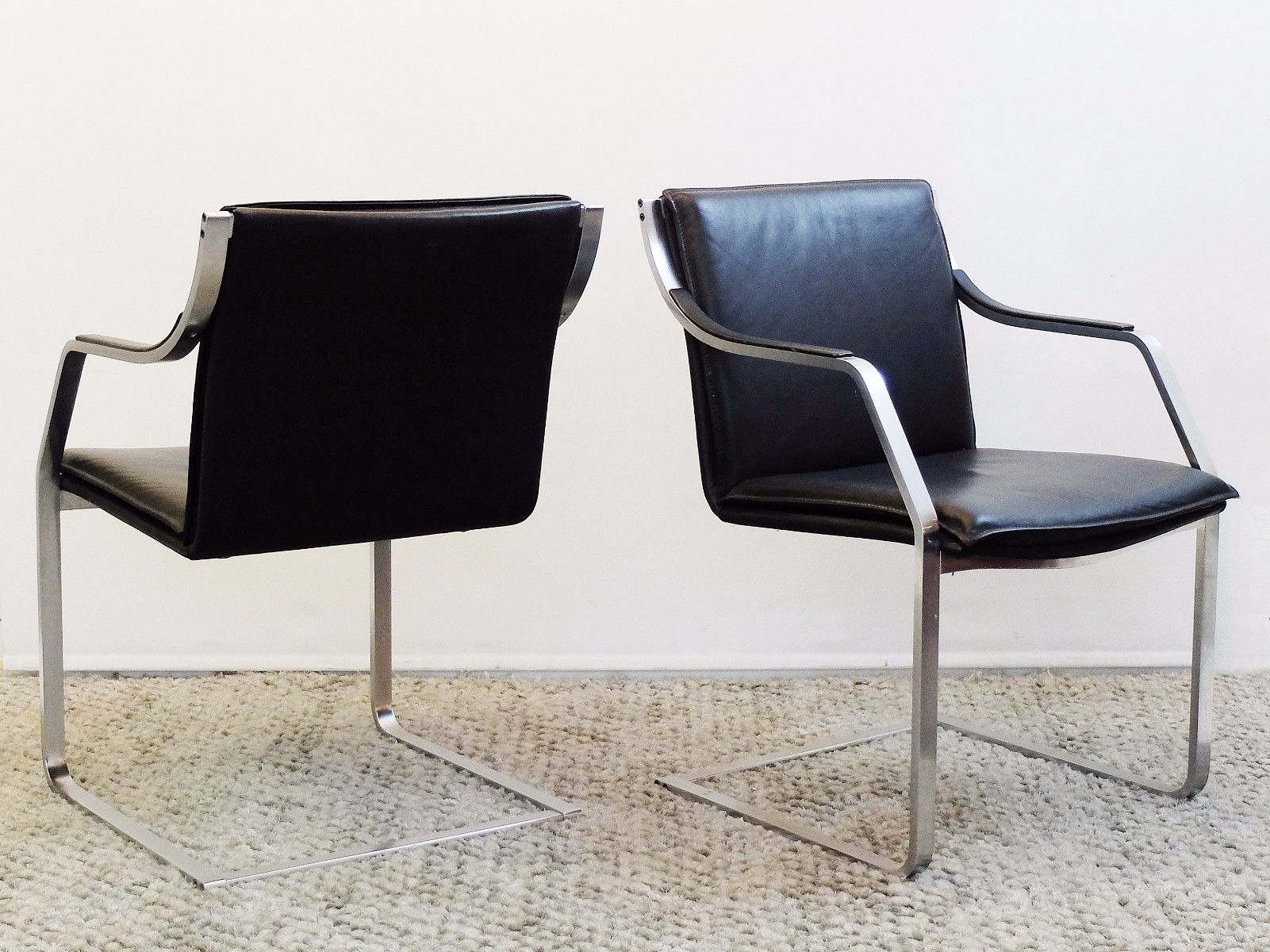 Cantilever chair by rudolf b glatzel for knoll inc 1970s for sale at pamono - Knoll inc chairs ...