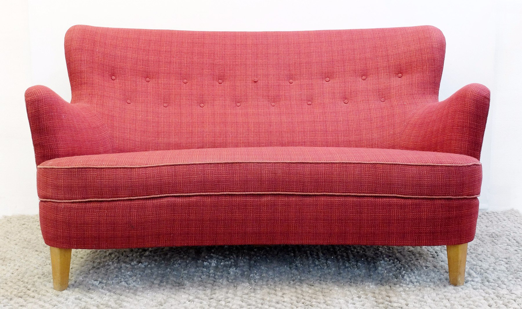 Vintage model samsas sofa by carl malmsten for o h sj gren for sale at pamono Carl malmsten sofa