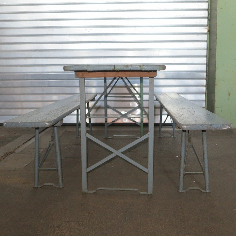 Klappbarer vintage esstisch aus holz 1950er bei pamono kaufen for Esstisch aus holz