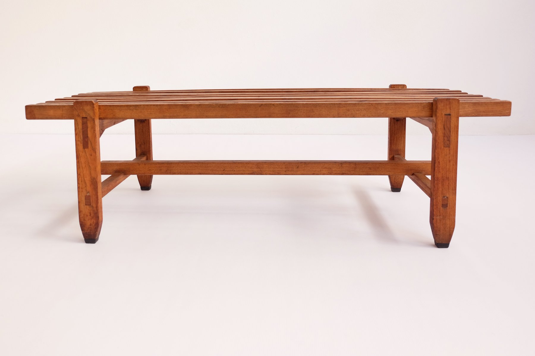 Vintage italian wooden bench for sale at pamono Wooden bench for sale