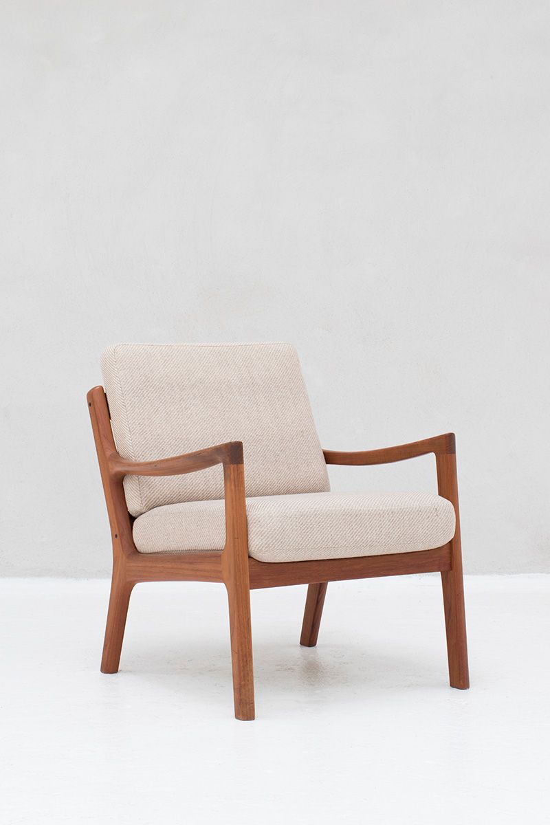 Model 166 Easy Chair By Ole Wanscher For Cado, 1950s