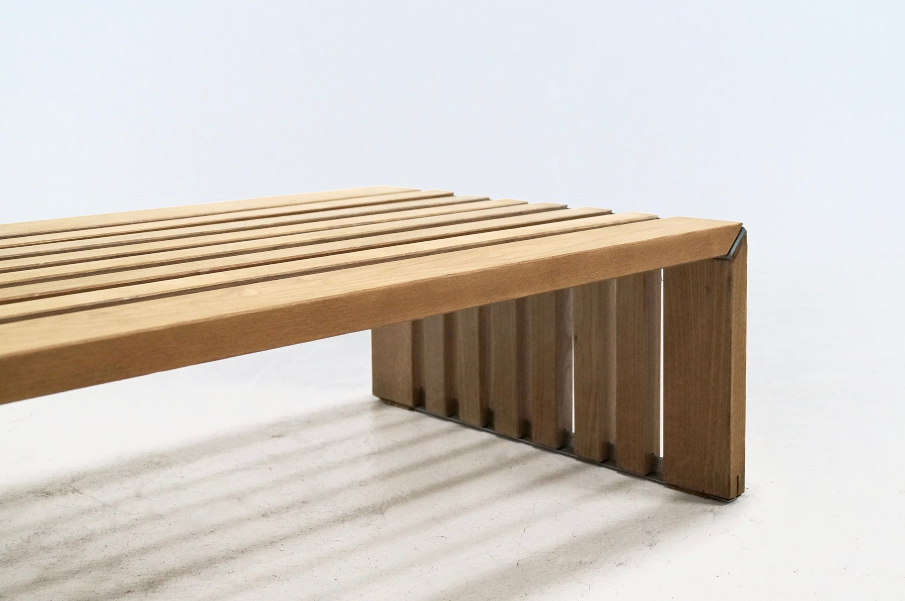 Slat Bench by Walter Antonis for Arspect 1970s for sale at Pamono