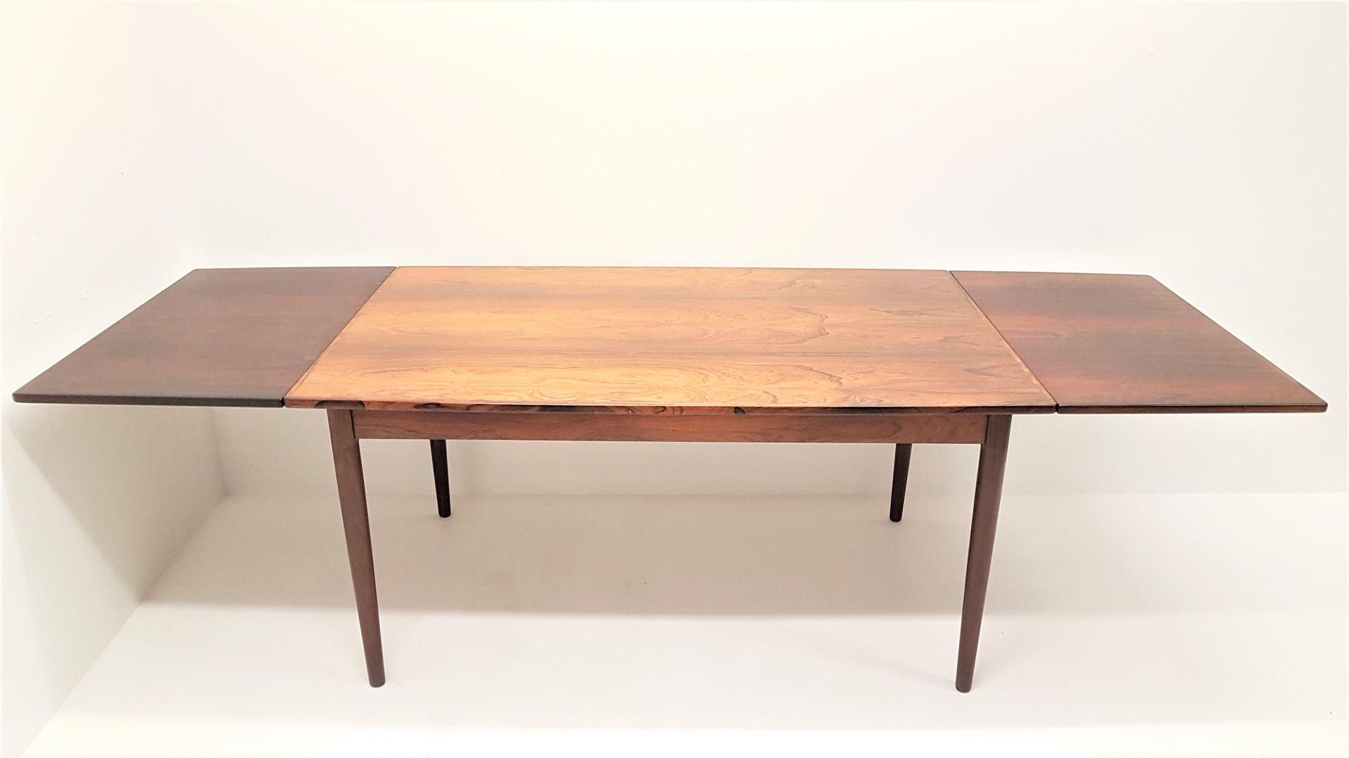 d nischer palisander esstisch 1960er bei pamono kaufen. Black Bedroom Furniture Sets. Home Design Ideas