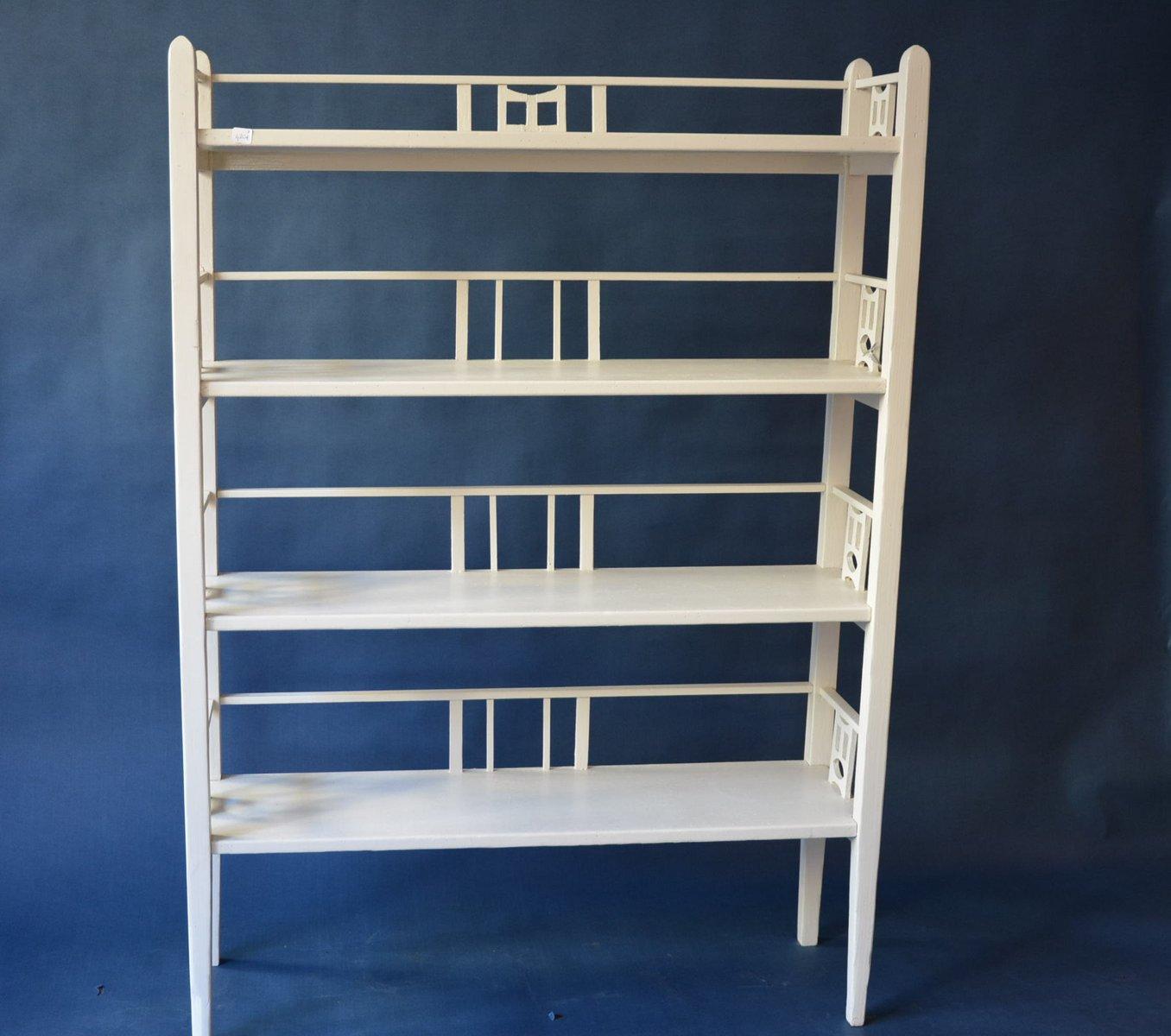 wei es b cherregal 1950er bei pamono kaufen. Black Bedroom Furniture Sets. Home Design Ideas